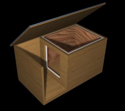 """2) На счет  """"планировки """" будки есть сомнения) Прочла, что делают холодный тамбур и тёплую."""